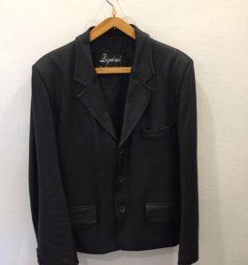 Куртка - пиджак ( натуральная кожа).