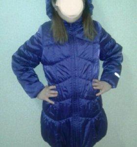 Зимняя куртка-пальто 134