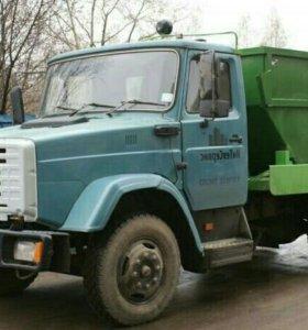 Вывоз мусора бункерами