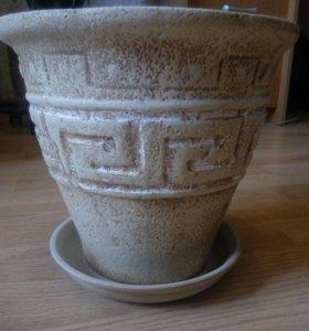 Горшок керамика