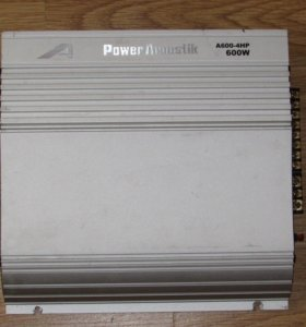 Усилитель 2,3,4х канальный Power Acoustik 600W