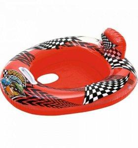 Круг надувной плавательный с сиденьем