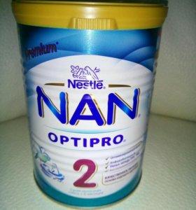 NAN 2 optipro сухая молочная смесь