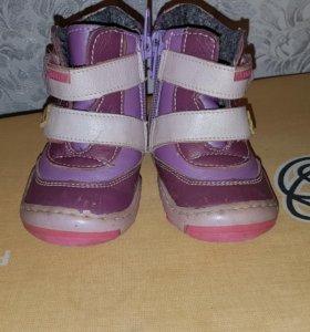 Отличные кожаные весенние ботиночки