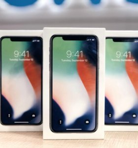 Apple iPhone X 64Gb Silver, Space Gray