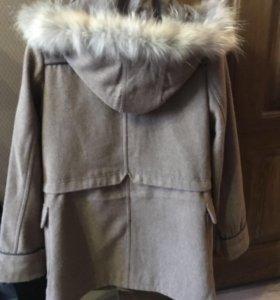 Пальто нат. шерсть и мех