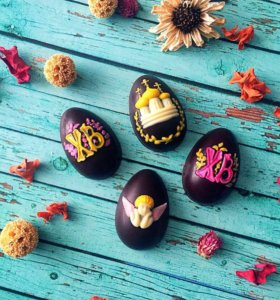 Пасхальные яйца из бельгийского шоколада