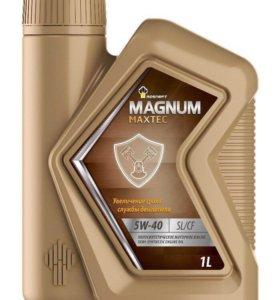 Моторное масло Роснефть Magnum 5w-40 Sl/CF 4 литра
