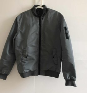 Мужская куртка-бомбер Bershka