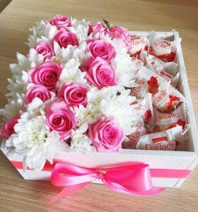 Подарок / цветочная композиция