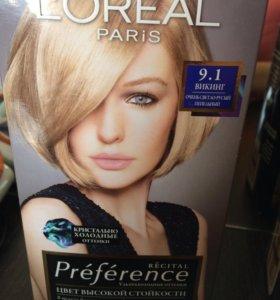 Краска для волос лореаль, и к ней два тоника