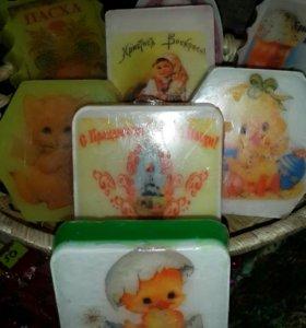 Дизайнерское мыло и свечи