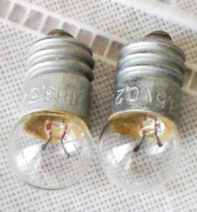 лампочки малые ЛН и др. на 3,5 вольт, СССР
