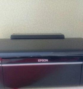 Цветной фото принтер EPSON