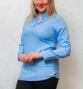Блузка женская с карманами