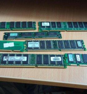 Продам кучу оперативок ddr2 и ddr3, 512 мб и 64 мб