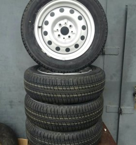 Новые колёса, R14 175/65, Kama-217, 4шт. Обмен.