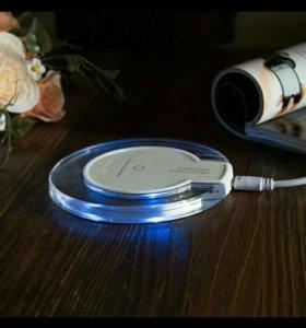 Беспроводная зарядка для Самсунга S6 и для айфонов