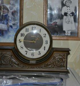 Часы каминные Весна