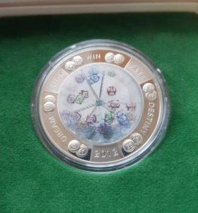 2 доллара 'Ниуэ' Лотерея (Серебро)