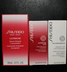Shiseido крема миниатюры