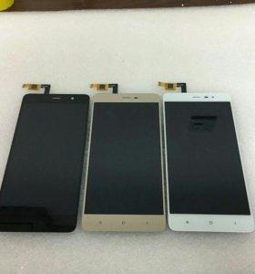 Дисплей с заменой Xiaomi redmi note 3/3 pro 148мм