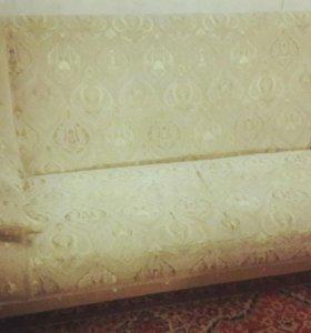 Комплект диван,кресло и пуф