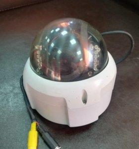 Цветная купольная камера наблюдения Infinity бу