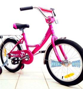 """Велосипед Novatreck 18"""", Vector, фиолетовый"""