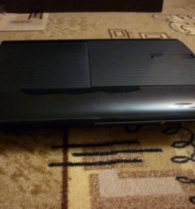 Sony Playstation 3 super slim (320gb)+ 15 дисков