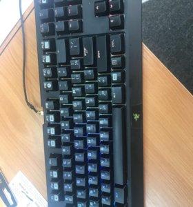 Игровая клавиатура Razer blackwidow te chrime