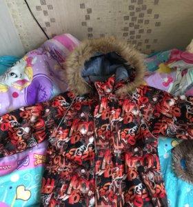 Зимняя куртка фирма Хуппа