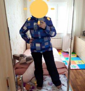 Горнолыжный зимний костюм 48 р.L