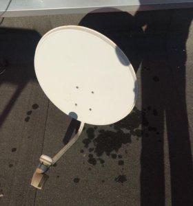 Спутниковая тарелка + тв тюнер