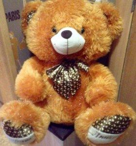 Мягкая пушистая игрушка Медвежонок