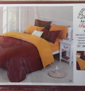 Постельное белье 2-х спальное Сатин