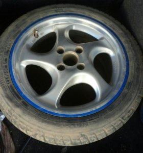 Комплект колес на литых дисках. R15.