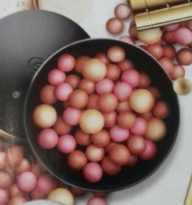 """Румяна в шариках Джиордани """"Золотое сияние"""""""