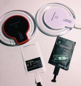 Беспроводная зарядка и чип для IPhone и Android