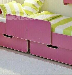 Кровать для девочки без матраса