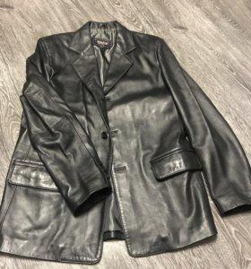 Кожаный пиджак, новый
