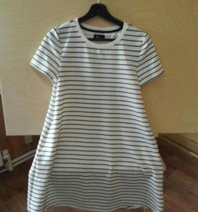 Платье в полоску Reserved