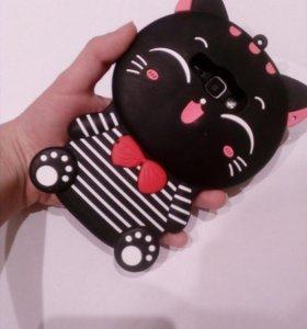 чехол на телефон (обьемный) котик