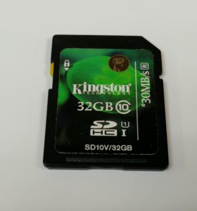 Kingston SDHC 32Gb