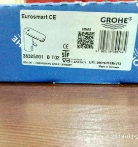 Инфракрасный смеситель для раковины grohe Eurosmar