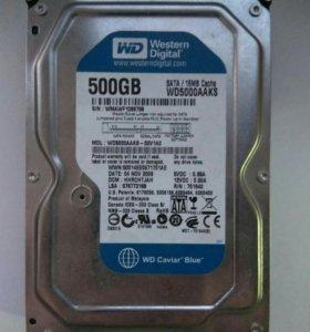 Жесткий диск для компьютера 500 GB