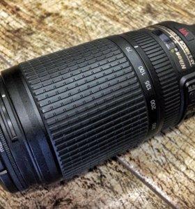 Объектив Nikon AF-S 70-300 4,5-5,6 G ED VR