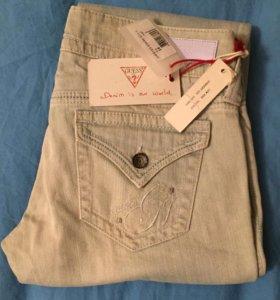 джинсы Guess, новые с биркой.