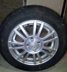 шины кама-217 с литыми дисками