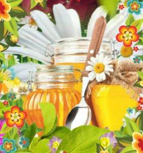 Мёд цветочный.